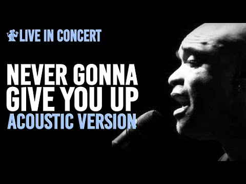 Charles Simmons Live & Acoustic - Never Gonna Give You Up