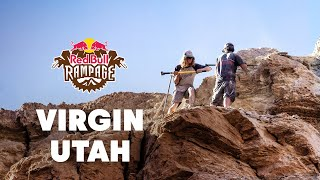 Riders Battle Over Limited Land for Lines - Red Bull Rampage 2015