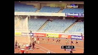 Antonio Reina Gran Premio San Sebastian A L  800 m l