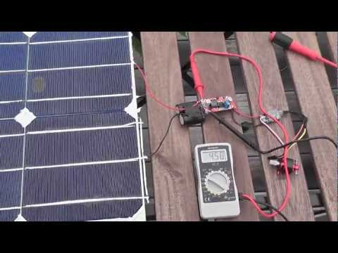 solar powered brushless motor for rc car