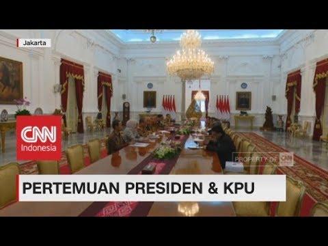 Pertemuan Presiden & KPU, Evaluasi Pilkada 2018 & Persiapan Pemilu 2019