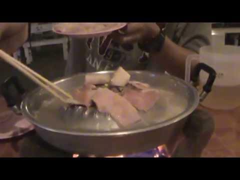 ซิ่นดาด หมูกะทะลาว pork pan buffet