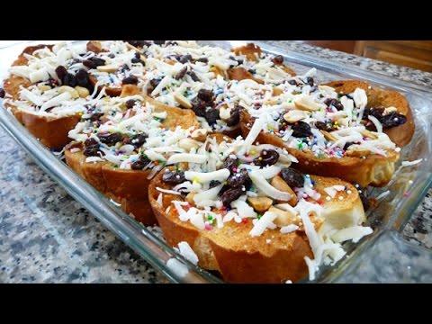 Receta facil capirotada receta familiar cocina mexicana for Cocinar facil