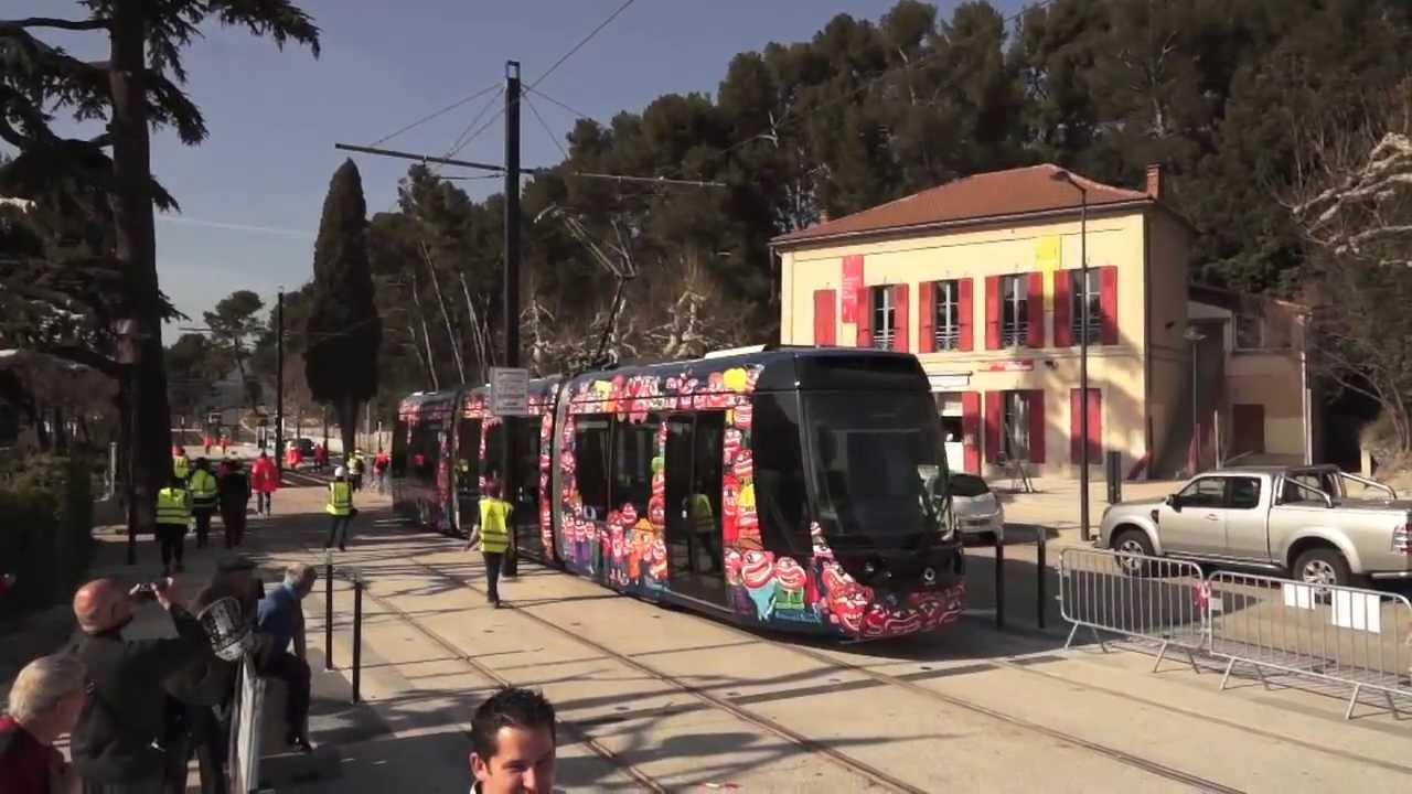 tramway d 39 aubagne ouverture de la ligne charrel