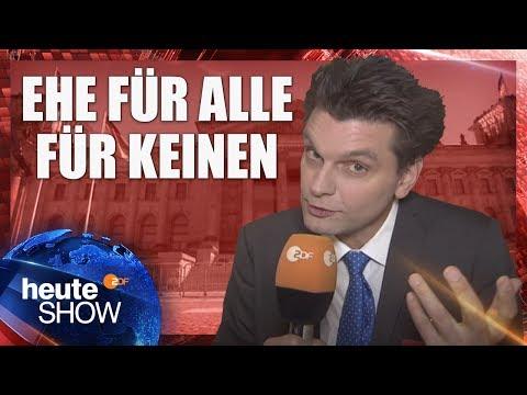 Warum Kommt Die Ehe Für Alle Nicht? Lutz Van Der Horst Im Bundestag | Heute-show Vom 02.06.2017