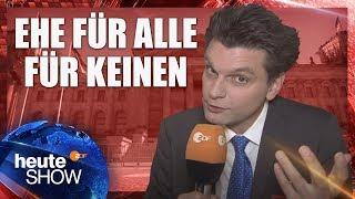 Warum kommt die Ehe für alle nicht? Lutz van der Horst im Bundestag
