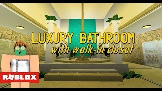 Roblox Bloxburg - Luxury Bathroom