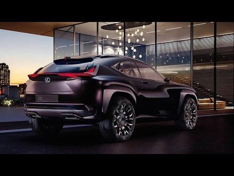 Lexus UX Concept Teased Ahead Paris Auto Show 2016