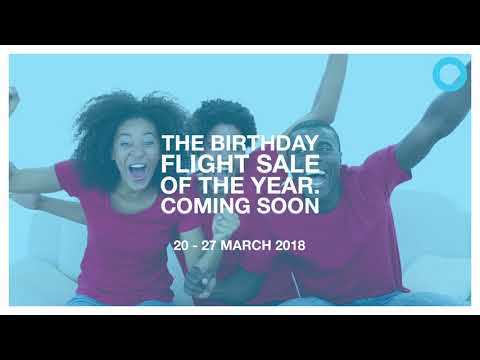 Travelstart Nigeria Birthday Sale Teaser