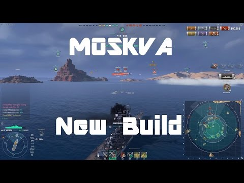 Moskva - New Meta, New Build [225k damage]