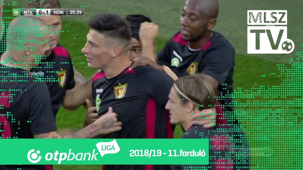 Batik Bence gólja az MTK Budapest  - Budapest Honvéd mérkőzésen