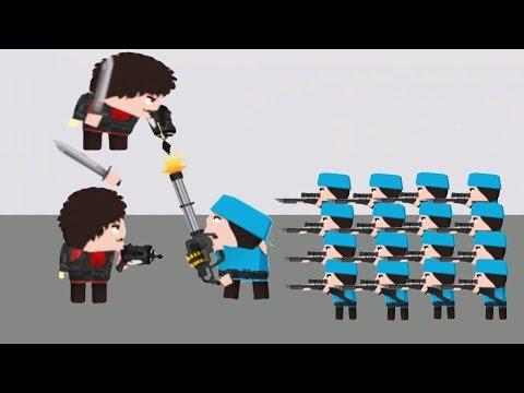 Clone Armies - Gameplay Walkthrough Part 16 - Level 22 (iOS, Android)