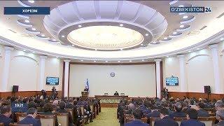 Президент Узбекистана Шавкат Мирзиёев 29-30 ноября посетил Хорезмскую область (