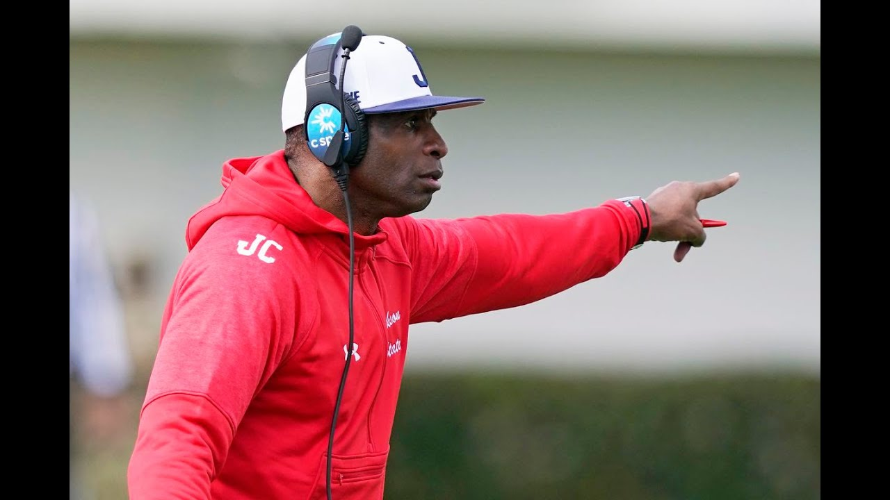 Jackson State gives Deion Sanders shutout in coaching debut ...