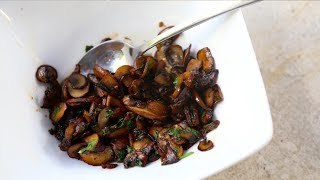 How to Sauté Mushrooms | SAM THE COOKING GUY