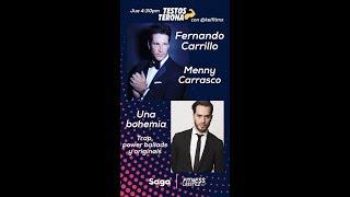 Fernando Carrillo canta a dúo con Menny Carrasto MYST