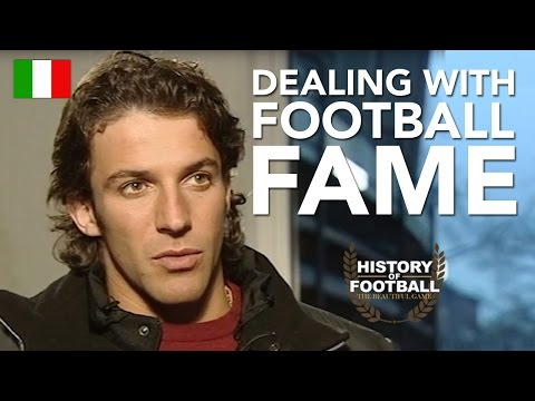 Dealing with Football Fame & The Press | Del Piero Football Interview | History Of Football