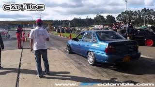 Daewoo Nexia Turbo vs Renault 21 Turbo