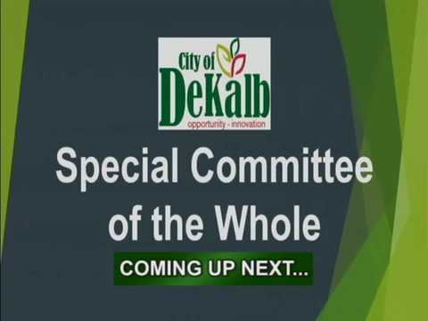 Special Committee of the Whole February 20th 2018
