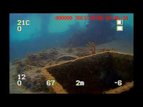 ROV on seabed debris inspection Kembla
