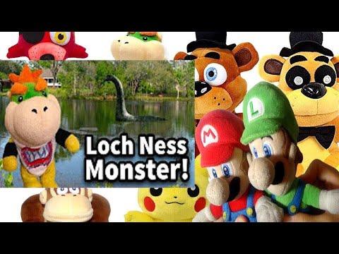 SML Movie: Loch Ness Monster! Mario And Luigi Reaction(GFreddy,Freddy,Foxy,Pikachu,BowserJr,DK)