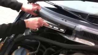 ( VW BORA GOLF 4 )( Замена салонного фильтра )( How to Cabin Air Filter Replacement )