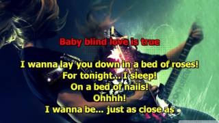 Bed Of Roses - (HD Karaoke) Bon Jovi