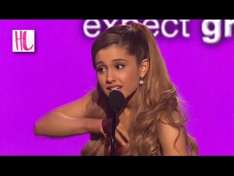 Ariana Grande American Music Awards Wardrobe Malfunction