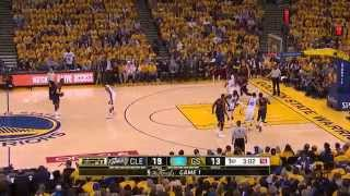 Timofey Mozgov vs GSW. Final, Game 1. 04.06.2015