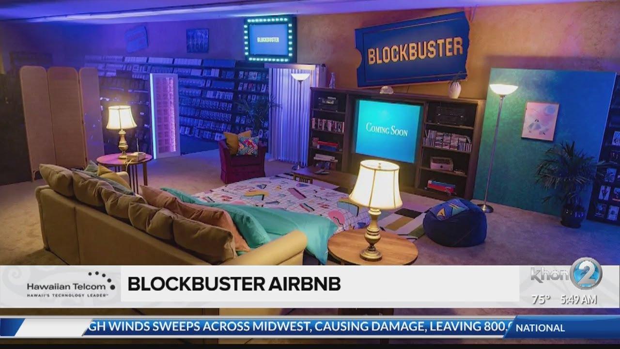 Social Scene Blockbuster Airbnb Youtube