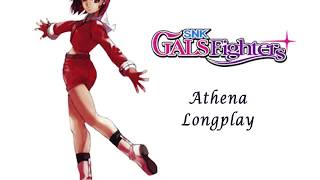 SNK Gals Fighters [NGP] Q.O.F. Mode - Athena