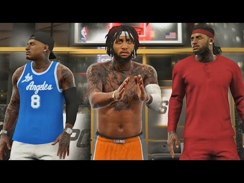 NBA 2K17 MyPARK - JUICEMAN CAUGHT A BODY!! Testing My Point Forward!!