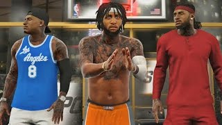 NBA 2K17 MyPARK - JUICEMAN CAUGHT A BODY!! Testing My Point Forward!!