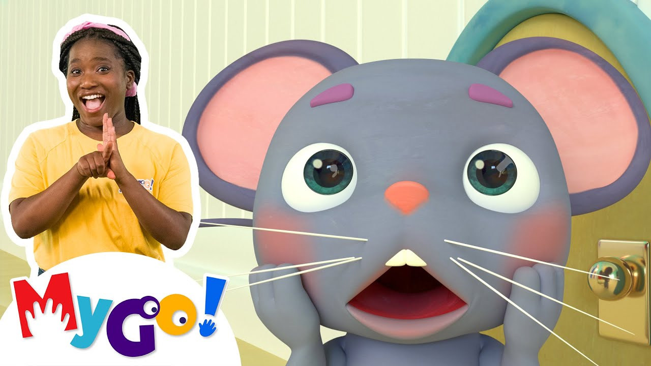 Download Hickory Dickory Dock | MyGo! Sign Language For Kids | CoComelon - Nursery Rhymes | ASL