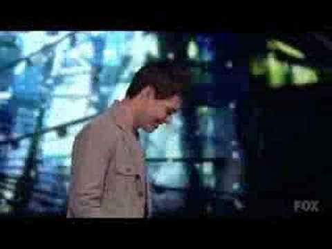 American Idol - David Archuleta - Another Day In Paradise