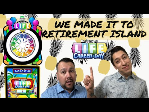 The Game of  Career Day We Made It To RETIREMENT ISLAND