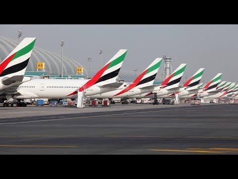 Emirates  |  EK164  |  A6-ENJ  |  777-300ER  |  Dublin - Dubai  |  Full Flight HD