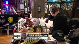 Teddy Bridgewater on the Dan Patrick Show (Full Interview) 5/13/14