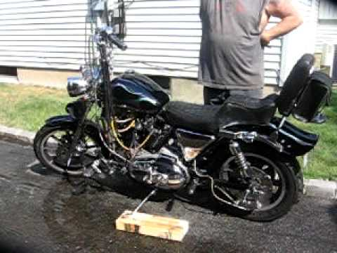 1980 sportster ironhead stroked 1200+cc TOTALY UNIQUE and WILD
