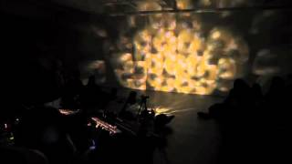 mario-enrique paoli (sound) and joel schlemowitz (image) live at the microscope galley 01/03/16 #2