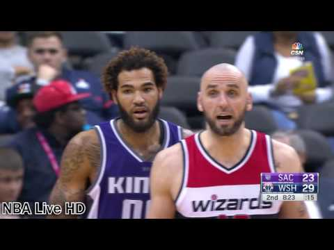 Washington Wizards and Sacramento Kings | 11.28.2016 | Full Game Highlights
