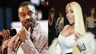 Nicki Minaj Decided To Shoot Her Shot At Michael B. Jordan At The People's Choice Awards