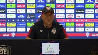 Cagliari-ChievoVerona, la conferenza stampa pre-gara
