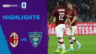 AC Milan 2-2 Lecce | Serie A 19/20 Match Highlights