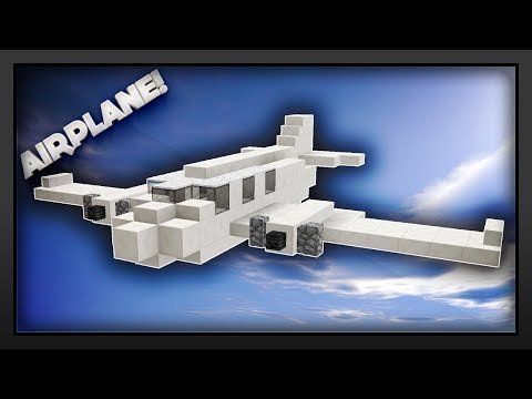 Minecraft - How To Make An Airplane