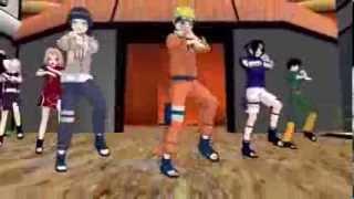 {MMD} Naruto- Gangnam Style