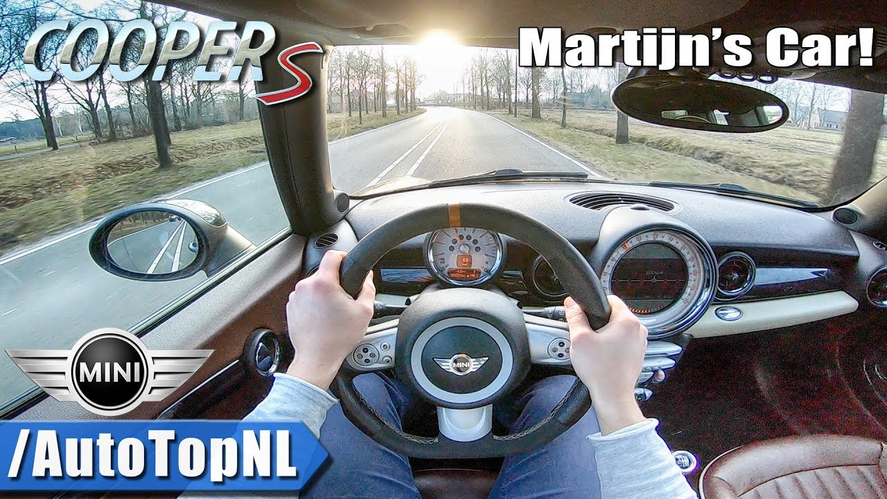 Mini Cooper S Clubman R55 Pov Test Drive By Autotopnl Youtube