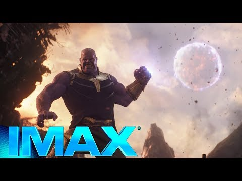 Thanos vs Avengers fight Scene IMAX   Avengers Infinity War Clip #2 thumbnail
