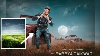 Pappya Gaikwad latest Photo editing in picsart | PicsArt cb editing tutorial | PicsArt professniol