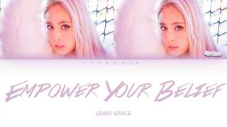 Download lagu Empower your belief Grazy Grace Color Coded Lyrics Video (Eng/Sub)